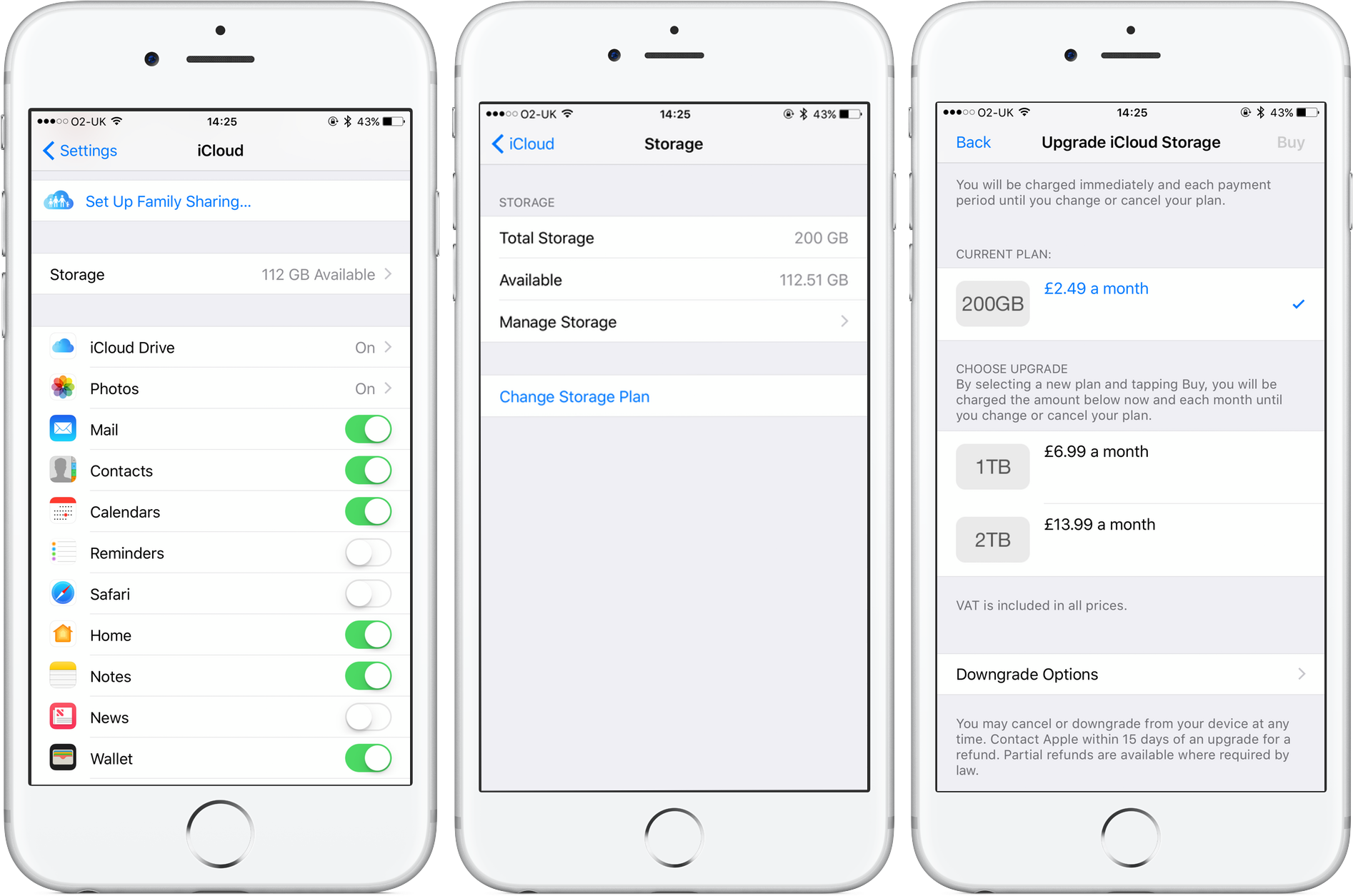 how to use apple icloud storage