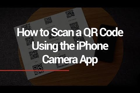 how to scan qr code on iphone how to scan a qr code using the on the iphone or 2955